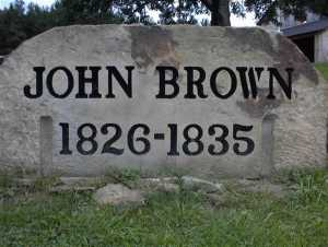 John Brown lived in New Richmond, Pennsylvania before he became a violent abolitionist.